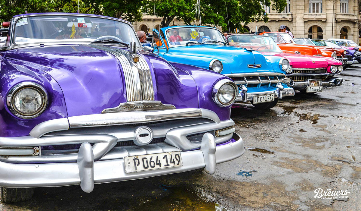 Oldtimer in Havanna Kuba