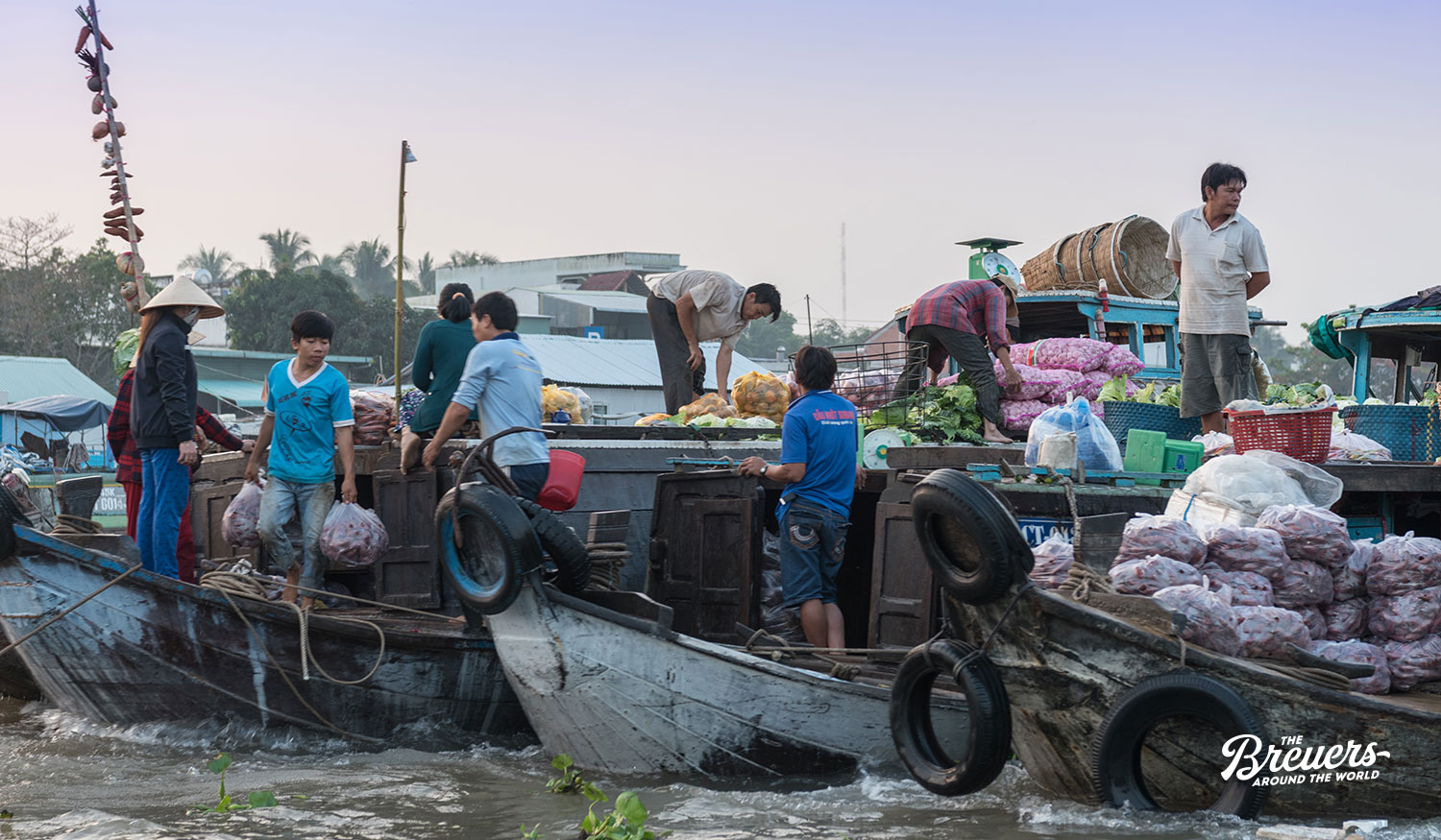 Floating Market von Cai Ranf in Vietnam