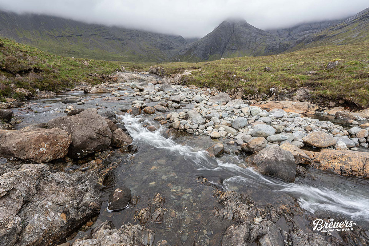 Fairy Pools auf der Isle of Skye