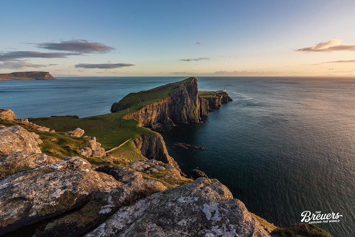 Sonnenuntergang am Neist Point auf der Isle of Skye