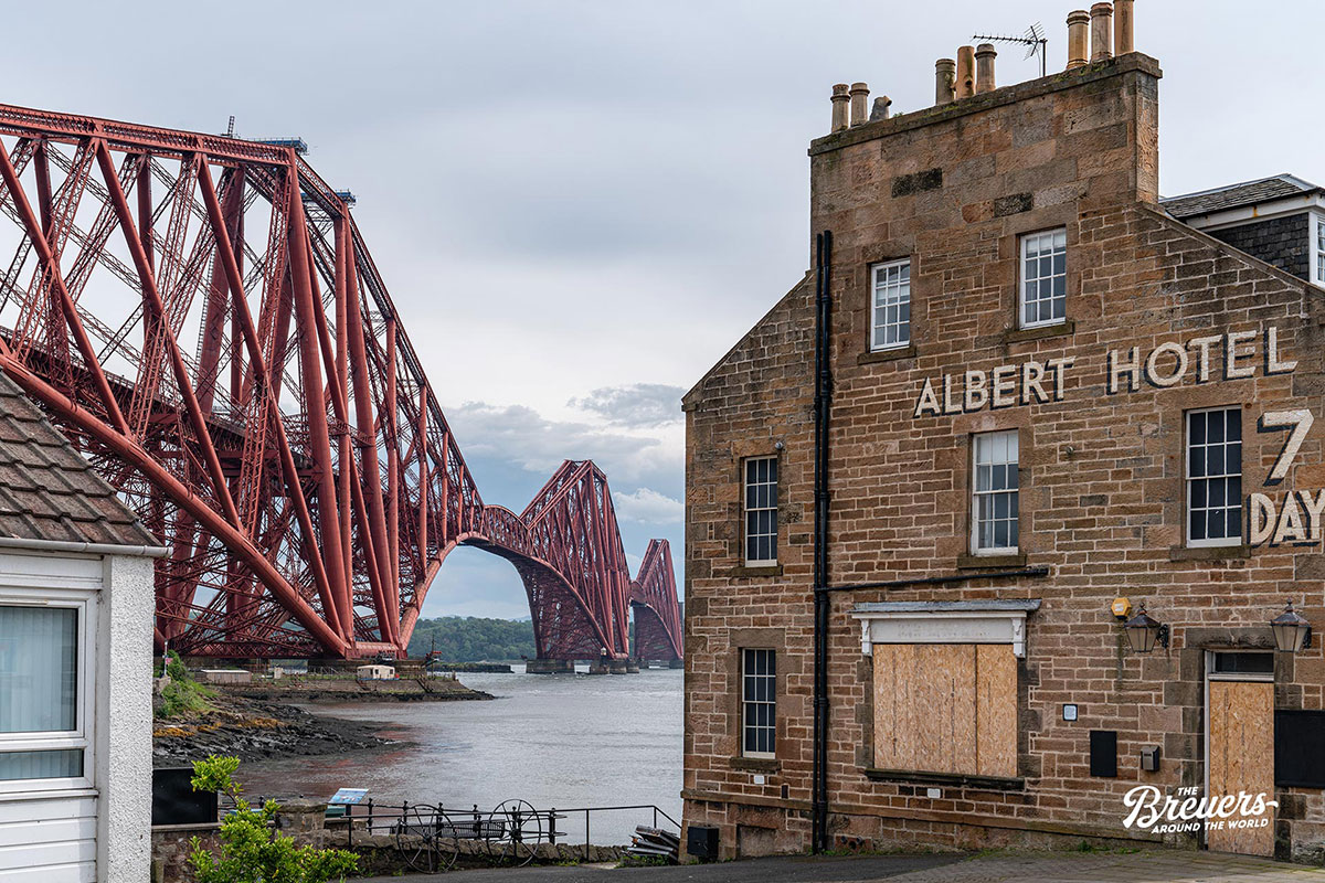 Albert Hotel Schottland Forth Bridge