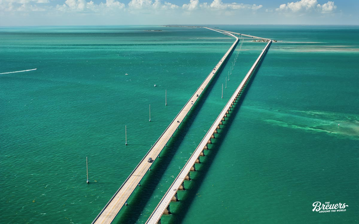 7 Mile Bridge auf die Florida Keys