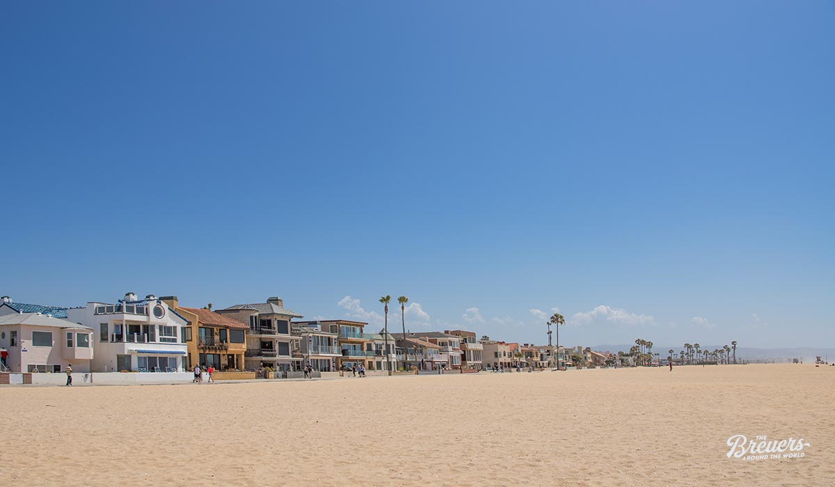 Ocean Front Walk in Newport Beach Kalifornien