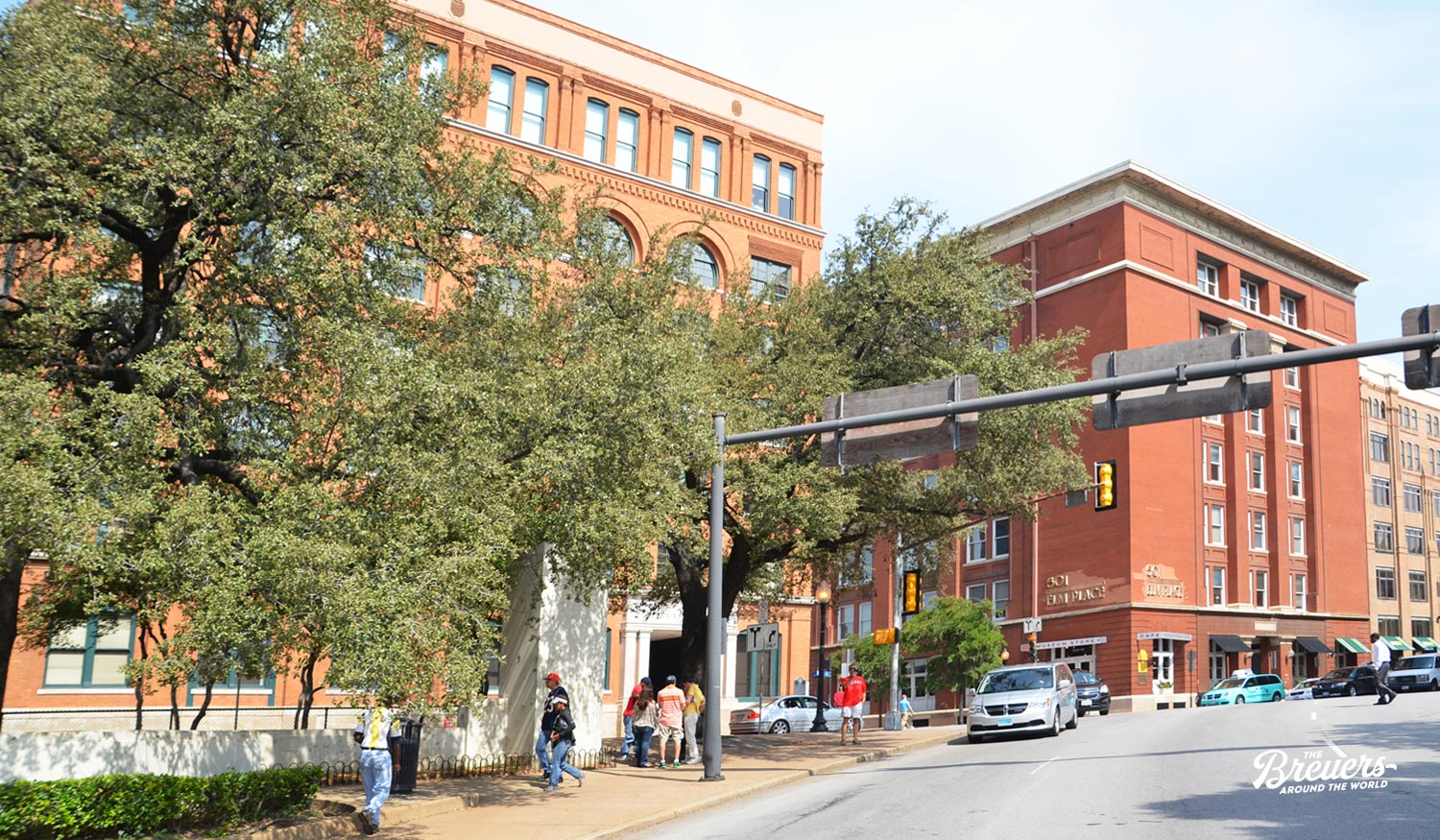 Texas School Book Depository am Dealey Plaza Dallas
