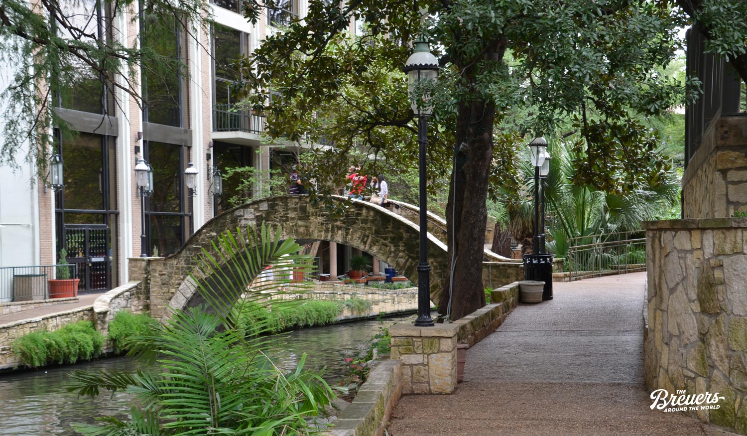 River Walk von San Antonio in Texas