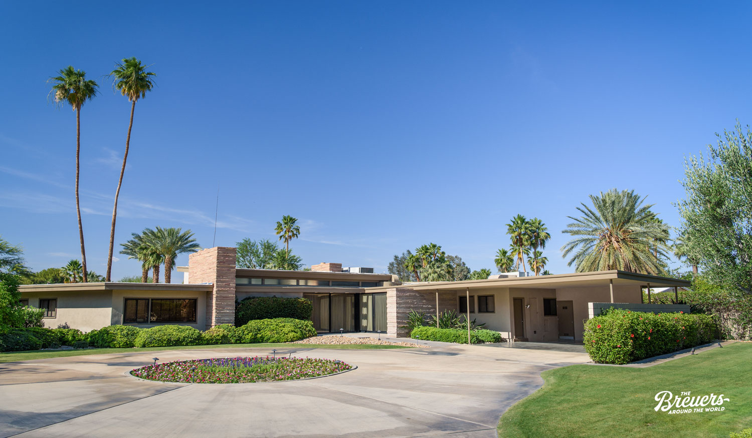 Twin Palms Estate von Frank Sinatra in Palm Springs