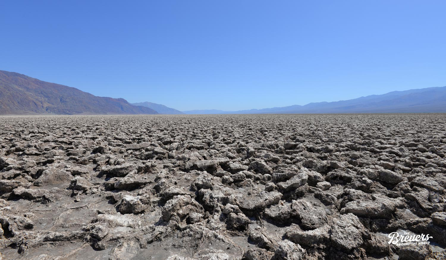 Badwater Basin im Death Valley Kalifornien